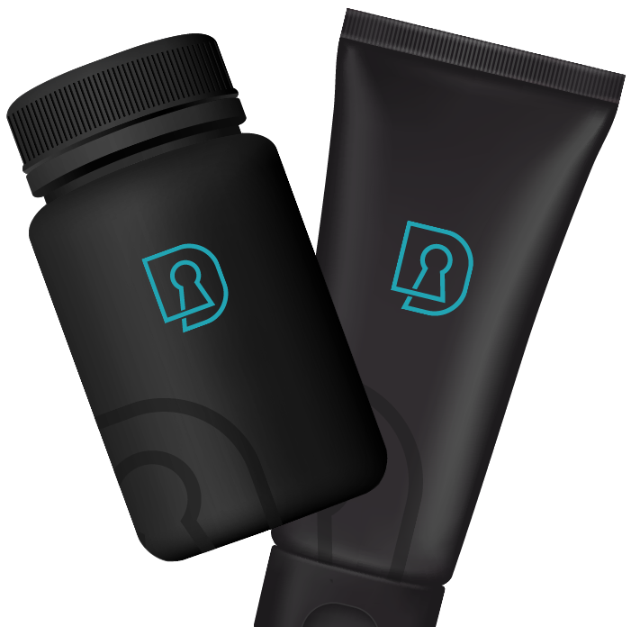 Discreet Care | Products Black